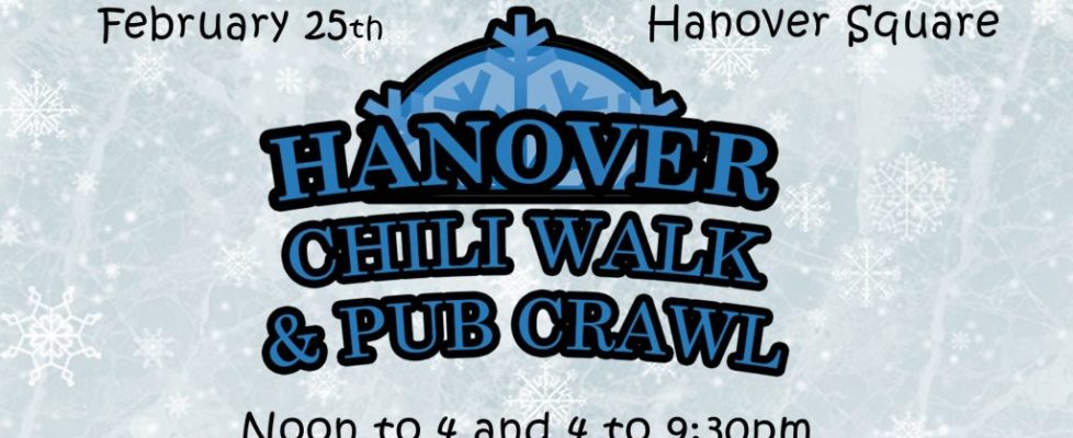 Chili Walk & Pub Crawl Slide